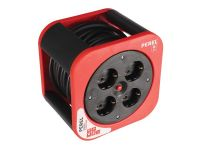 ECBOX10-G DESIGN CABLE BOX - RED - 10 m -